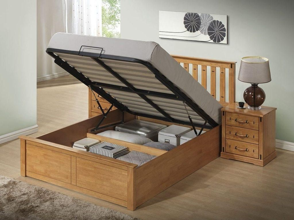 Functional And More Pleasant King Size Storage Bed