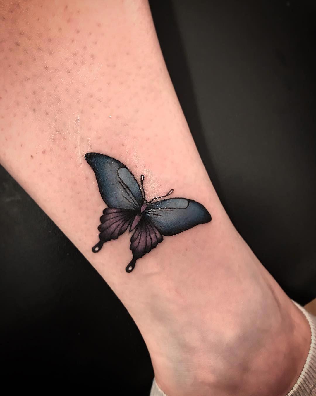 Photo of Half Sleeves Tattoos Meaning #Half Sleevetattoos Half Butterfly Tattoo … –  Ha…
