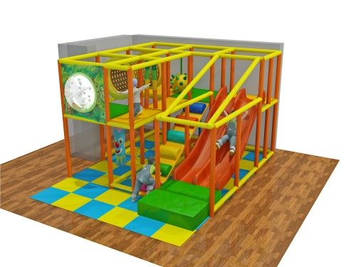 2 Level Toddler Indoor Play Structure - Indoor Playgrounds ...