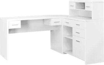 tambec white desk in 2019 new office white desks desk storage desk rh pinterest com