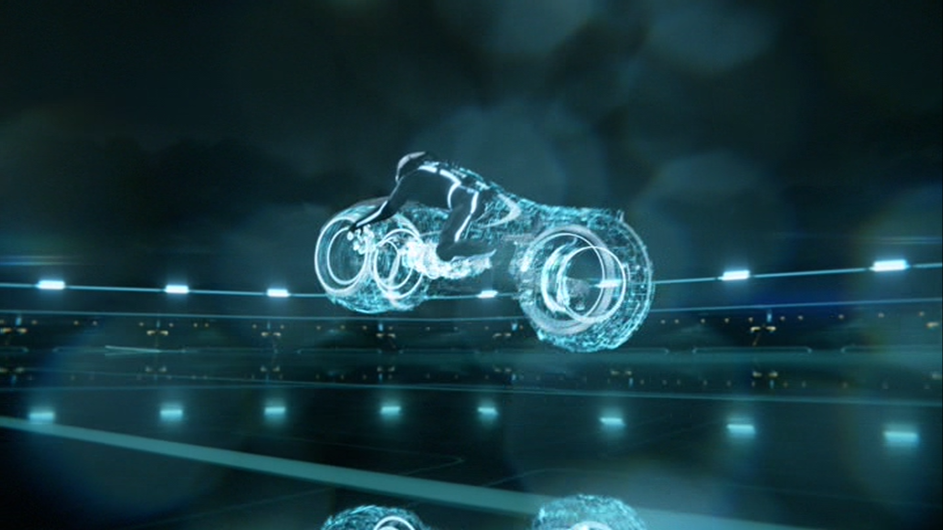 Tron Legacy Is Very Much In Keeping With The Original Film But Has Been Brough Bang Up To Date Cutting Edge CGI