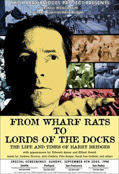 From wharf rats to lords of the docks [videorecording] : the life and times of Harry Bridges / the Harry Bridges Project presents ; a Haskell Wexler film