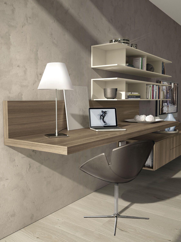 Mueble tv moderno de olmo de melamina z409 zalf for Muebles para television de madera modernos