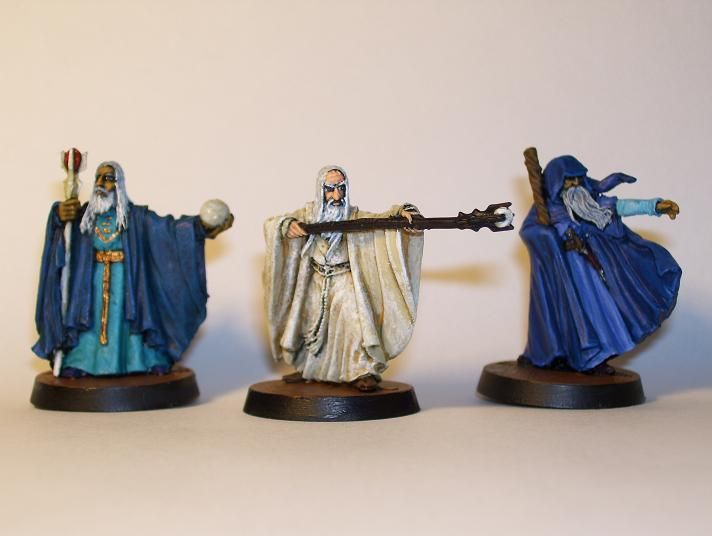 gandalf the white and the blue wizards alatar and pallando