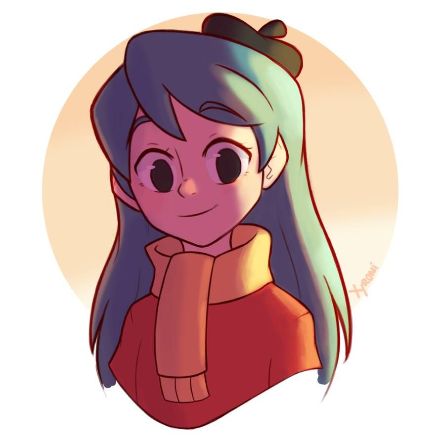 Hilda By Https Www Deviantart Com Xyronii On Deviantart Cartoon Drawings Cartoon Art Cartoon Art Styles