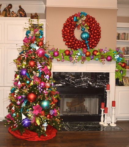Christmas Confection Tree Theme Decorate For With Candy And Sweet Colors