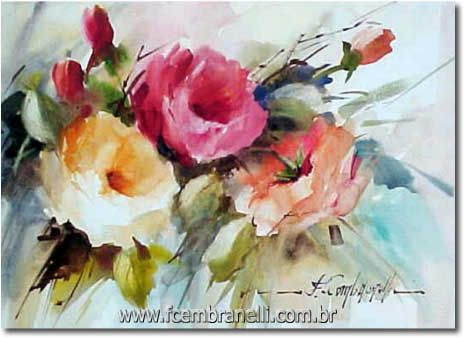 Let's Make a Painting: Step by Step Watercolor Floral Demo, plus many more tutorials