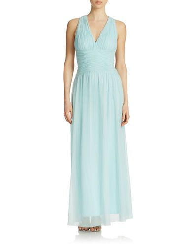 Brands Formalevening Organza Cross Back Dress Lord And Taylor