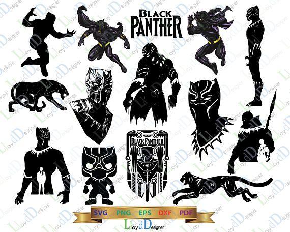 marvel black panther svg pack black panther marvel svg black panther rh pinterest com black panther clipart png black panther clipart images free