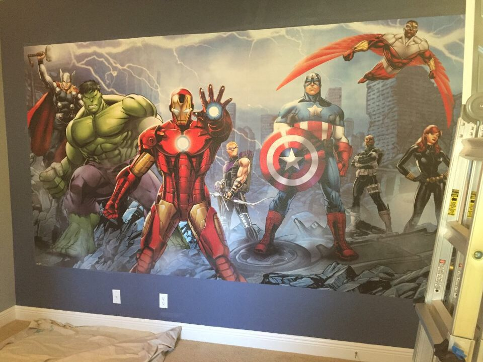 Dulux Marvel Avengers Bedroom In A Box Officially Awesome: Avengers Bedroom In 2019