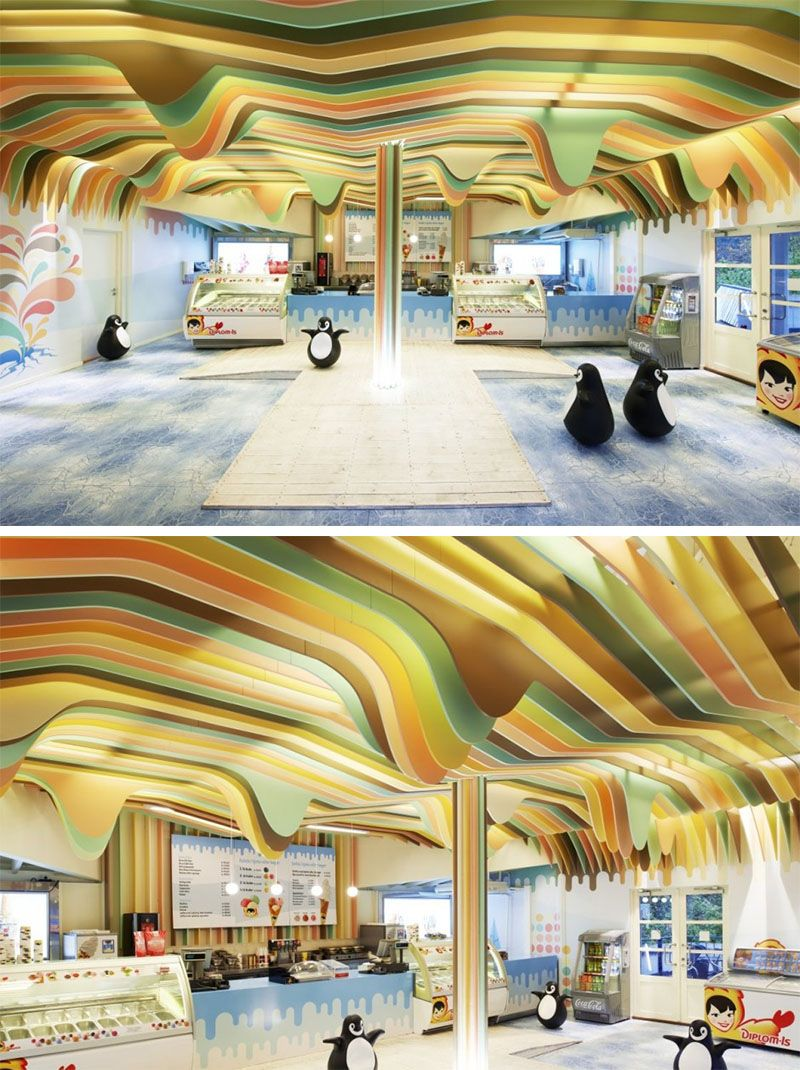Best 49 Inspiring Sculptural False Ceiling Designs To Pursue 400 x 300