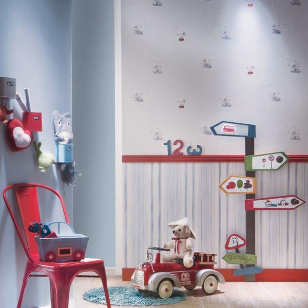 Papel pintado babies es la ultima tendencia para decorar - Papel pintado habitacion infantil nina ...