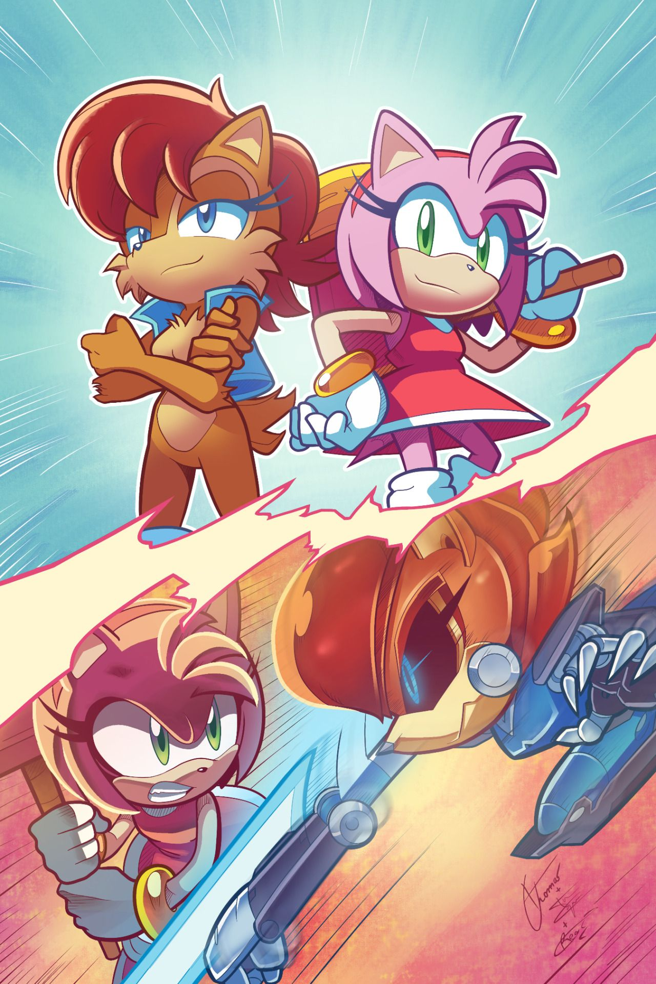Sally acorn sonic news work pictures to pin on pinterest - Sally Acorn Tenista Archie Sonic Online Ziggyfin First Of All This Was Drawn By