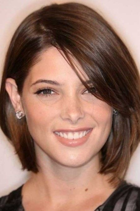 Excellent 2017 Short Hairstyles For Round Faces Wedding Hairstyles Round Hairstyles For Women Draintrainus