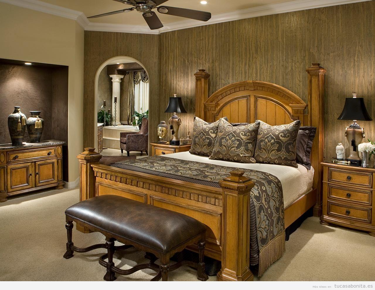 Dormitorios Matrimonio Clasicos Buscar Con Google Dormitorios  ~ Decoracion De Dormitorios De Matrimonio