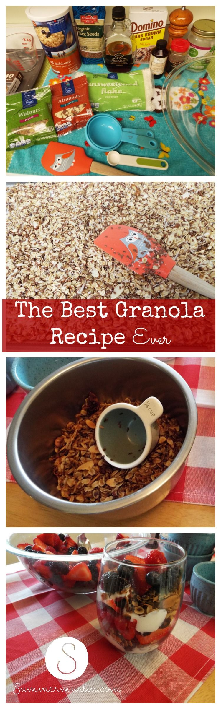 The Best Granola Recipe Ever