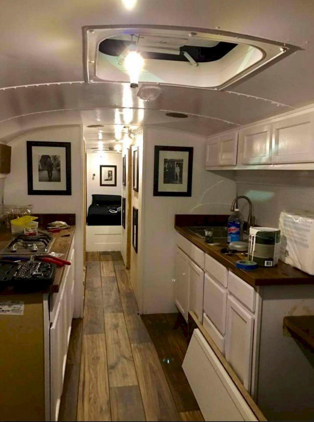 65 Best RVs and Camper Van Interior Design Ideas   Pinterest   Bus ...