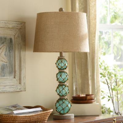 Product Details Netted Orbs Table Lamp In 2019 Beach
