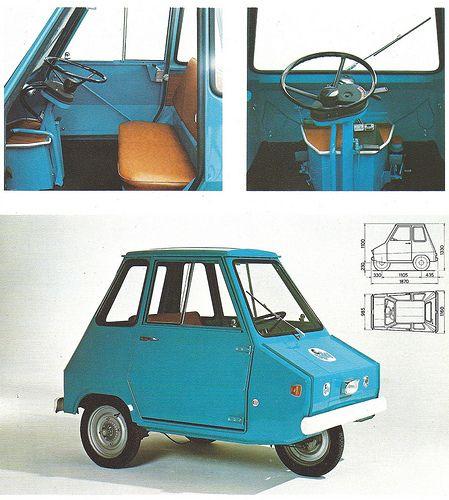 Casalini Sulky Microcar Cute Cars Weird Cars