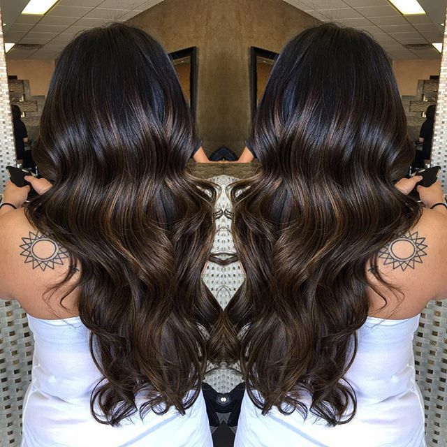In the process of going lighter from previously black hair on my trendy hair highlights picture description in the process of going lighter from previously black hair on my best friend with some balayage highlights pmusecretfo Image collections