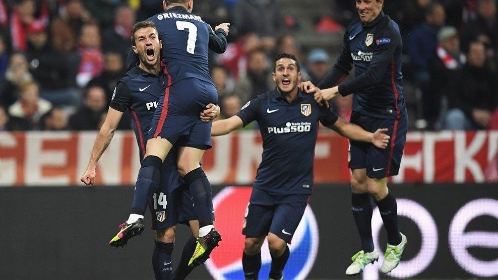 @atleticomadrid El #Atlético elimina al Bayern y es el primer finalista de la #LigadeCampeones #9ine