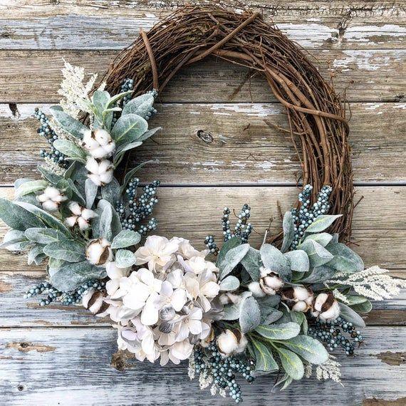 Photo of Spring wreath, spring wreath, summer decor, spring front door wreath, summer wreath, front door wreath, peasant wreath, farmhouse decor, wreath