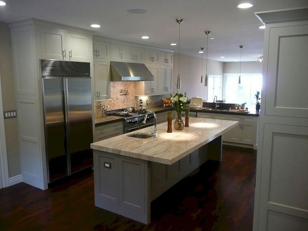 Astounding 9+ Marvelous White Kitchen Cabinet Collections To ...
