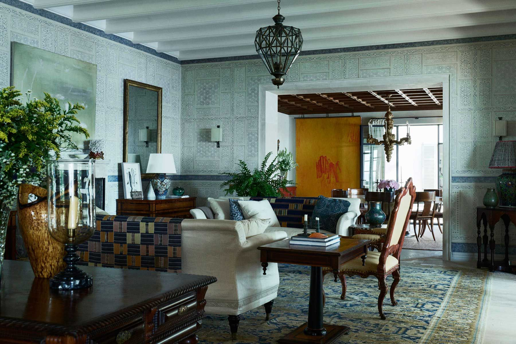 Gorgeous Mallorcan Retreat By Michael Smith Interiors And Walls # Muebles Mayoral