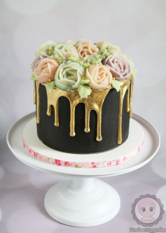 Malted Chocolate Cake Hazelnut Buttercream Frosting And
