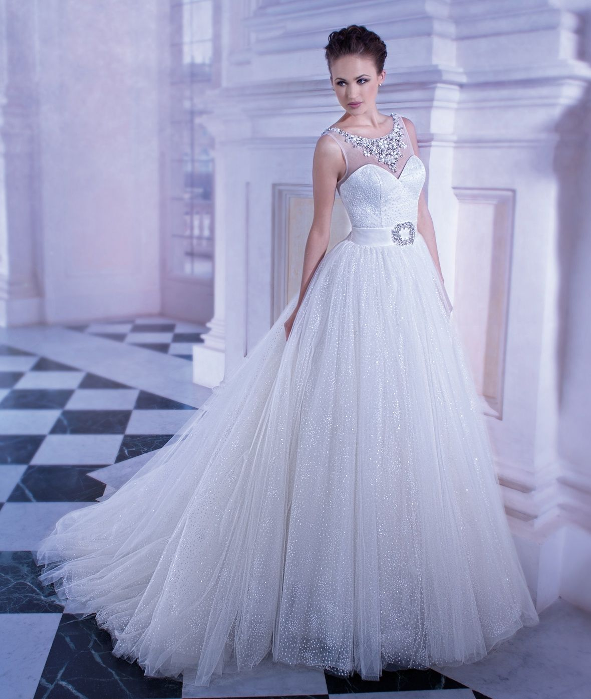 Dimitri Wedding Gowns: Demetrios Wedding Gown Style 555, Ilissa Collection