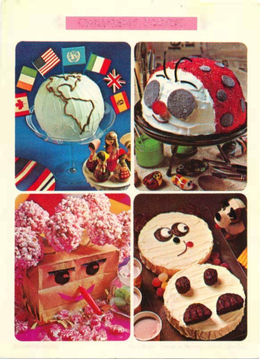 06 Children S Parties Betty Crocker Recipe Card Library My Mom
