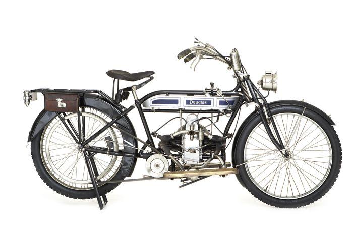 Douglas Boxer Twin 1914 England 348cc 2 1 2hp Sv