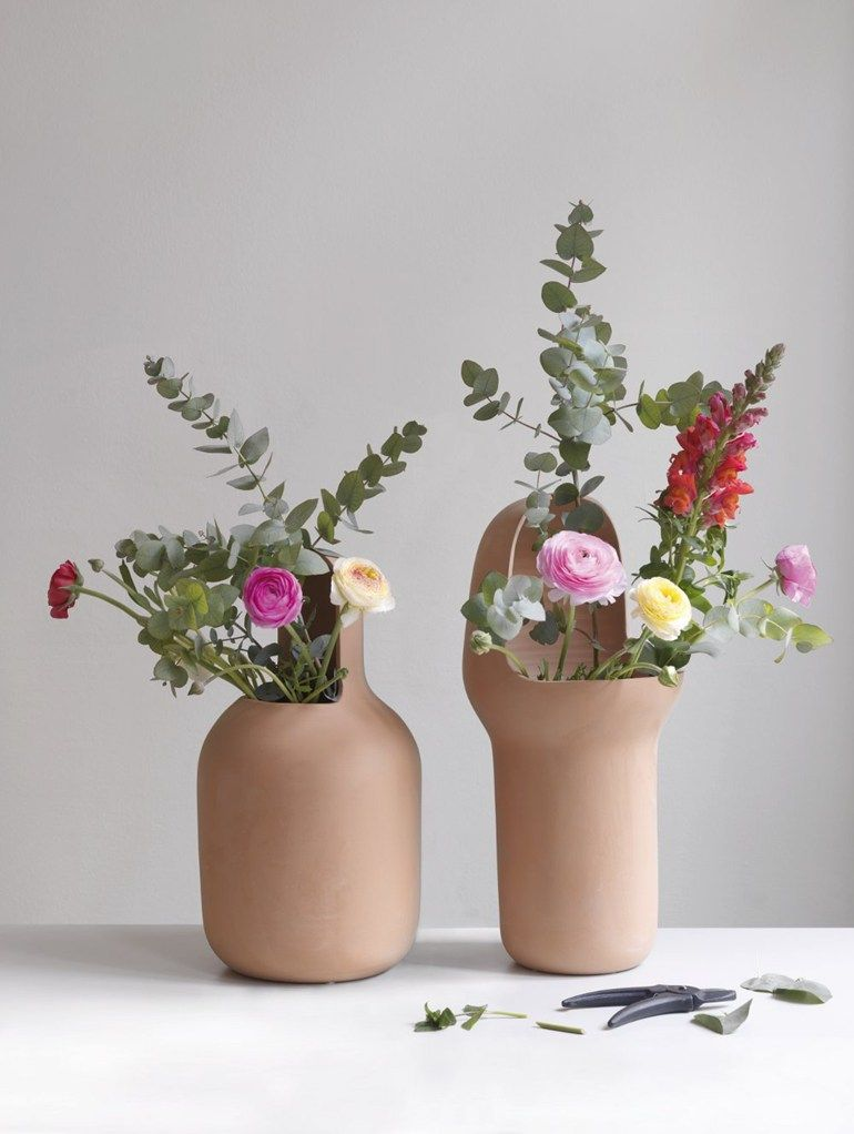 Terracotta #vase GARDENIAS by BD Barcelona Design | #design Jaime Hayón @BD Barcelona Design