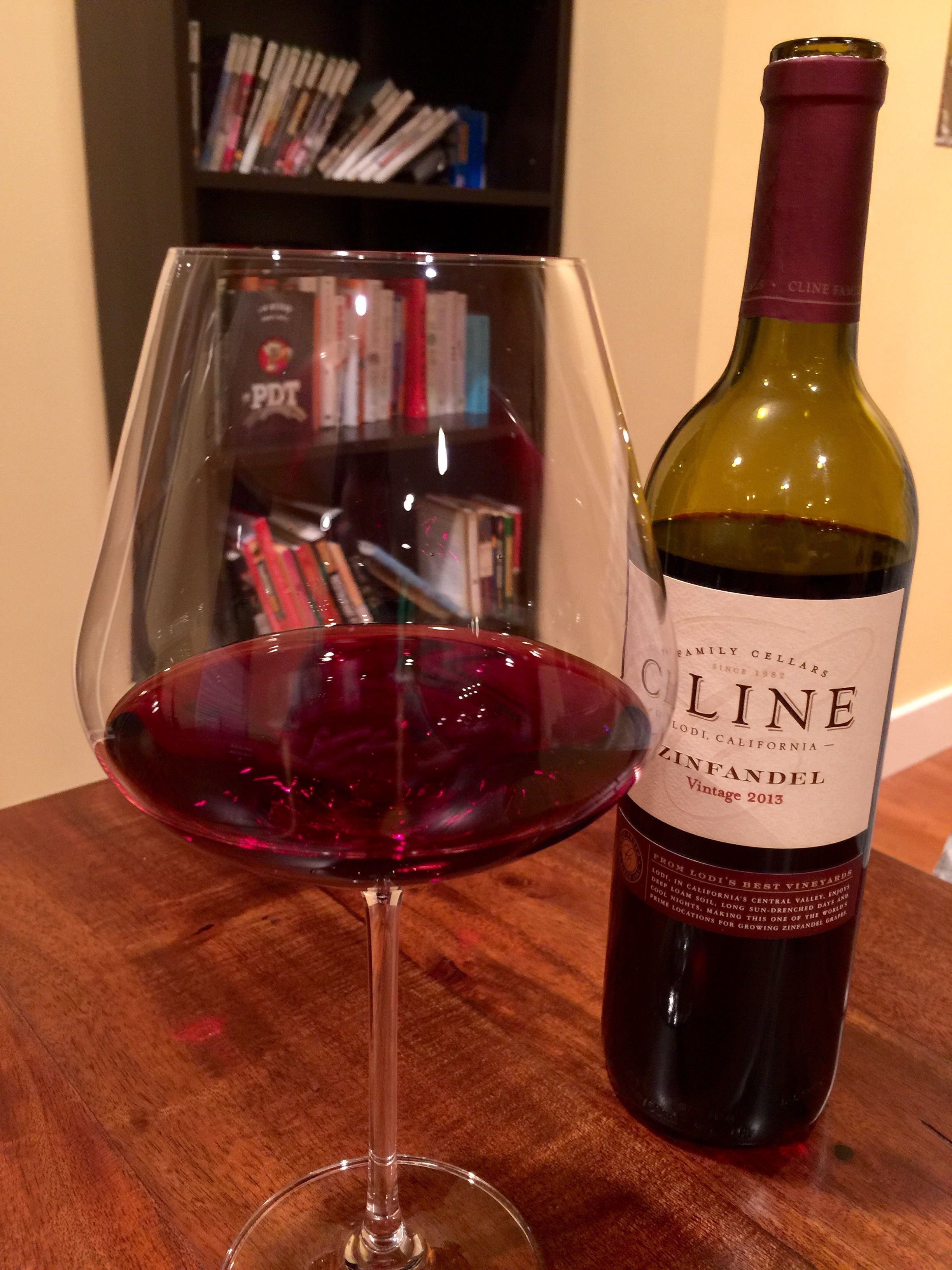 Cline Zinfandel 2013 Zinfandel Alcohol Red Wine