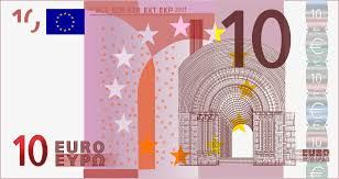 The 10 euro note depicts a romanesque arch.  The romanesque period represents the style in Europe from the 6th to 10th century.  The style is called romanesque because of its similarity to the classical style.