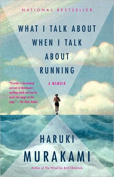 Murakami. And running. It's like I was made to read this book. #nextonthelist #probablylifechanging