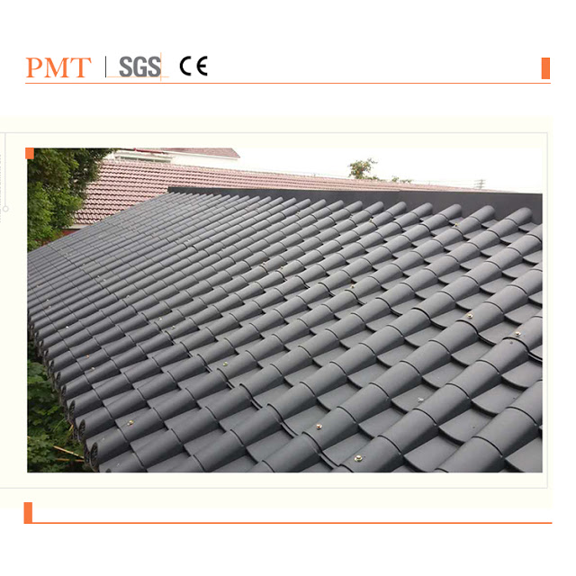 Black Three Layers Synthetic Resin Tile Macking Machine Whole Production Buy Resin Synthetic Resin Plastic Roof Tiles