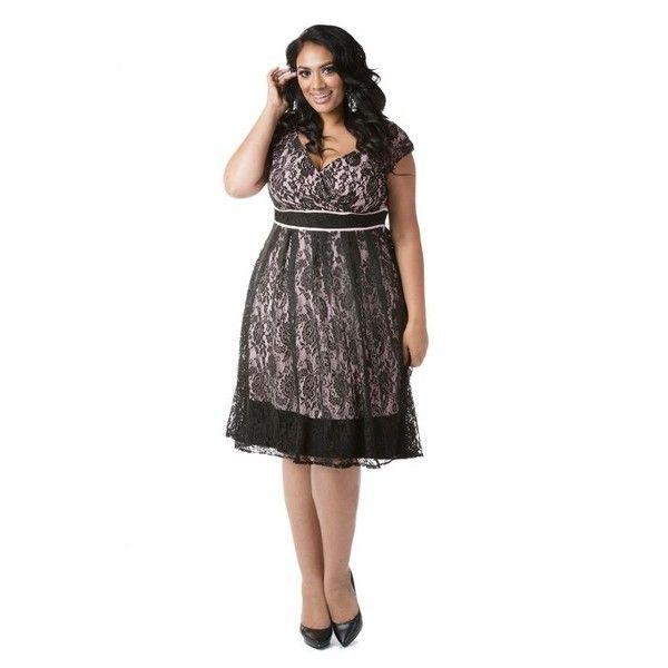 jessica plus size dress in black | my style | pinterest