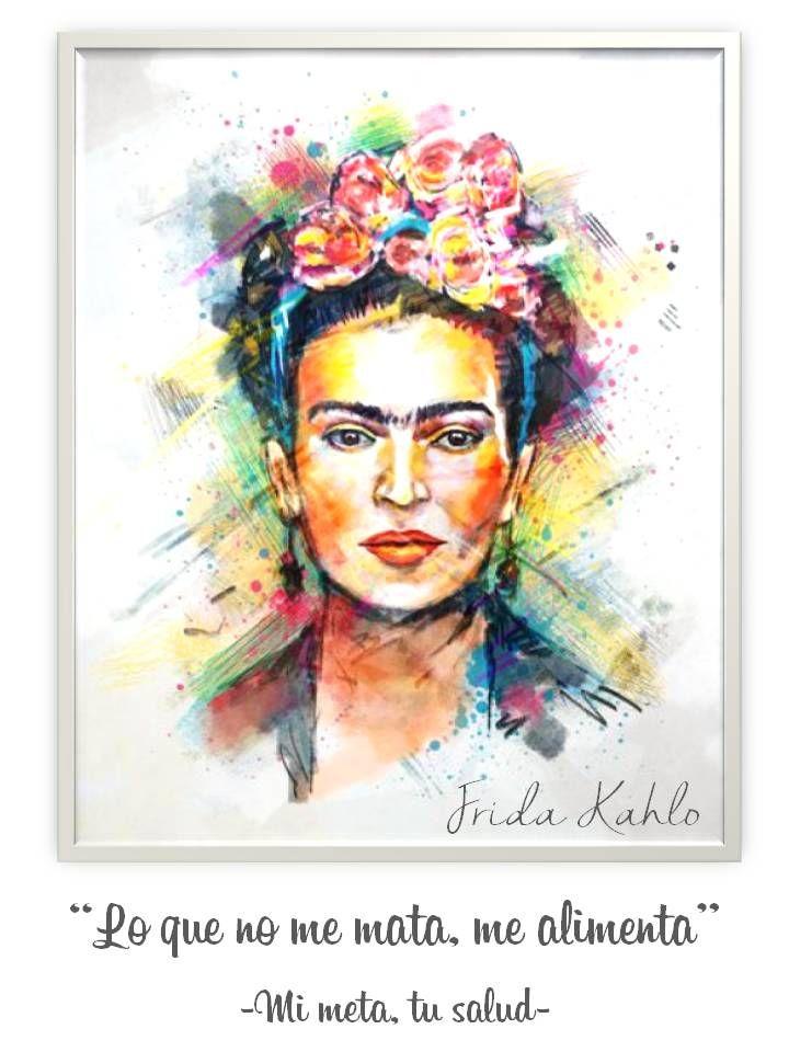 4d0932ed2c3 Lo que no me mata, me alimenta Frida Kahlo | <3 | Frida kahlo, Frida ...