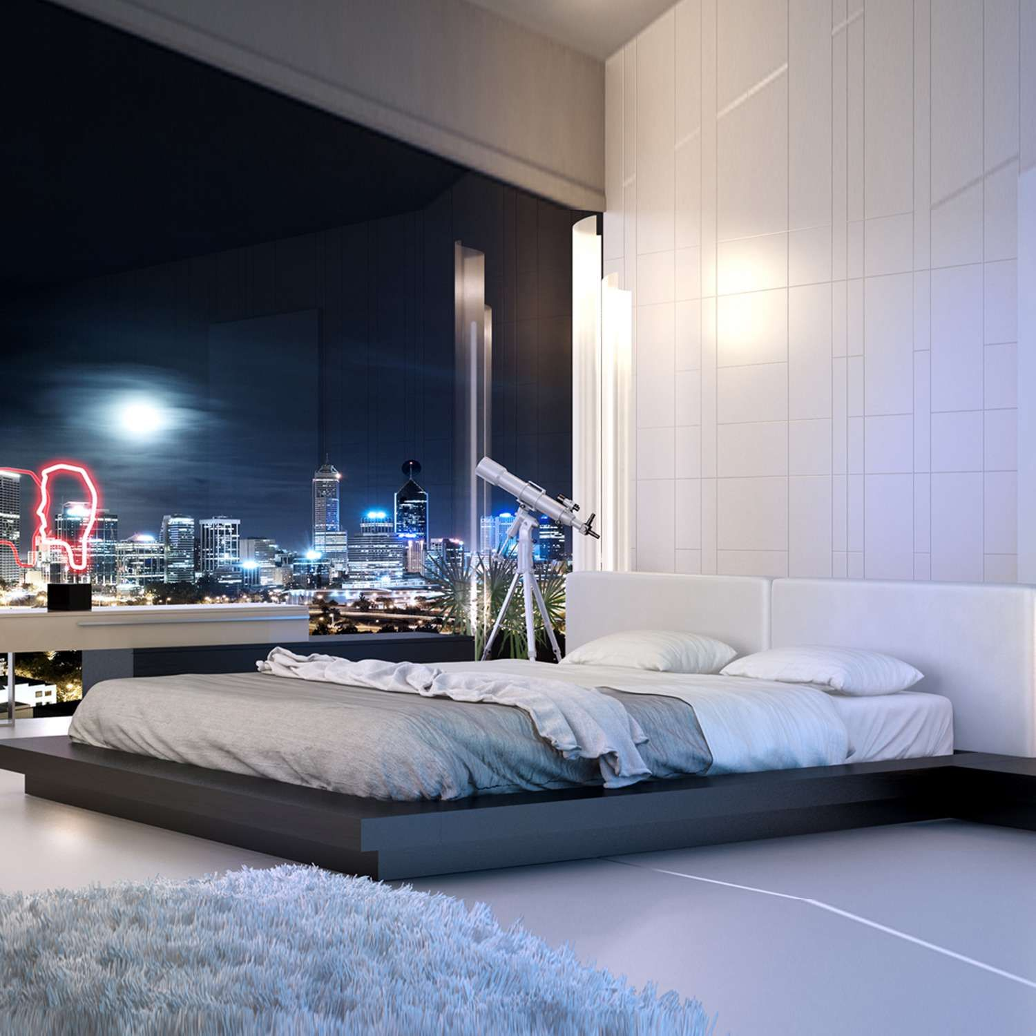 Worth Bed Modern Bedroom Cal King Bedding Bedroom Design