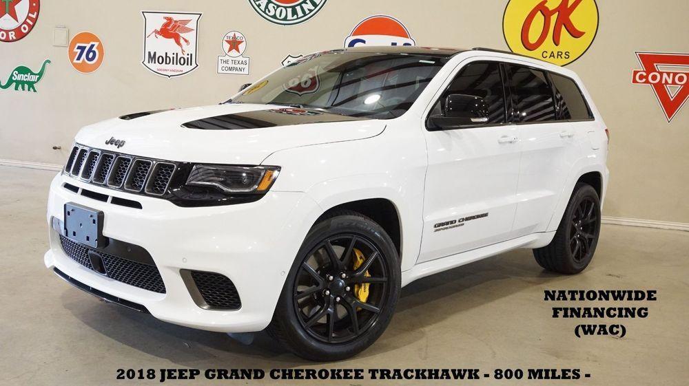Ebay Jeep Grand Cherokee Trackhawk Msrp 100k Roof Nav Rear Dvd