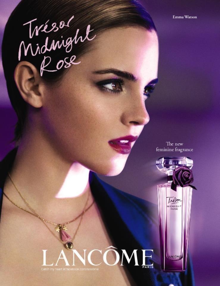 Lancome - Lancome Tresor Midnight Rose Fragrance F/W 11 Mario Testino  (Photographer)   Perfume ad, Midnight rose, Fragrance ad