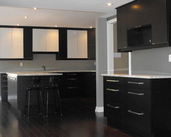 Ikea Nexus Black Brown Modern Kitchen Toronto Still Wat