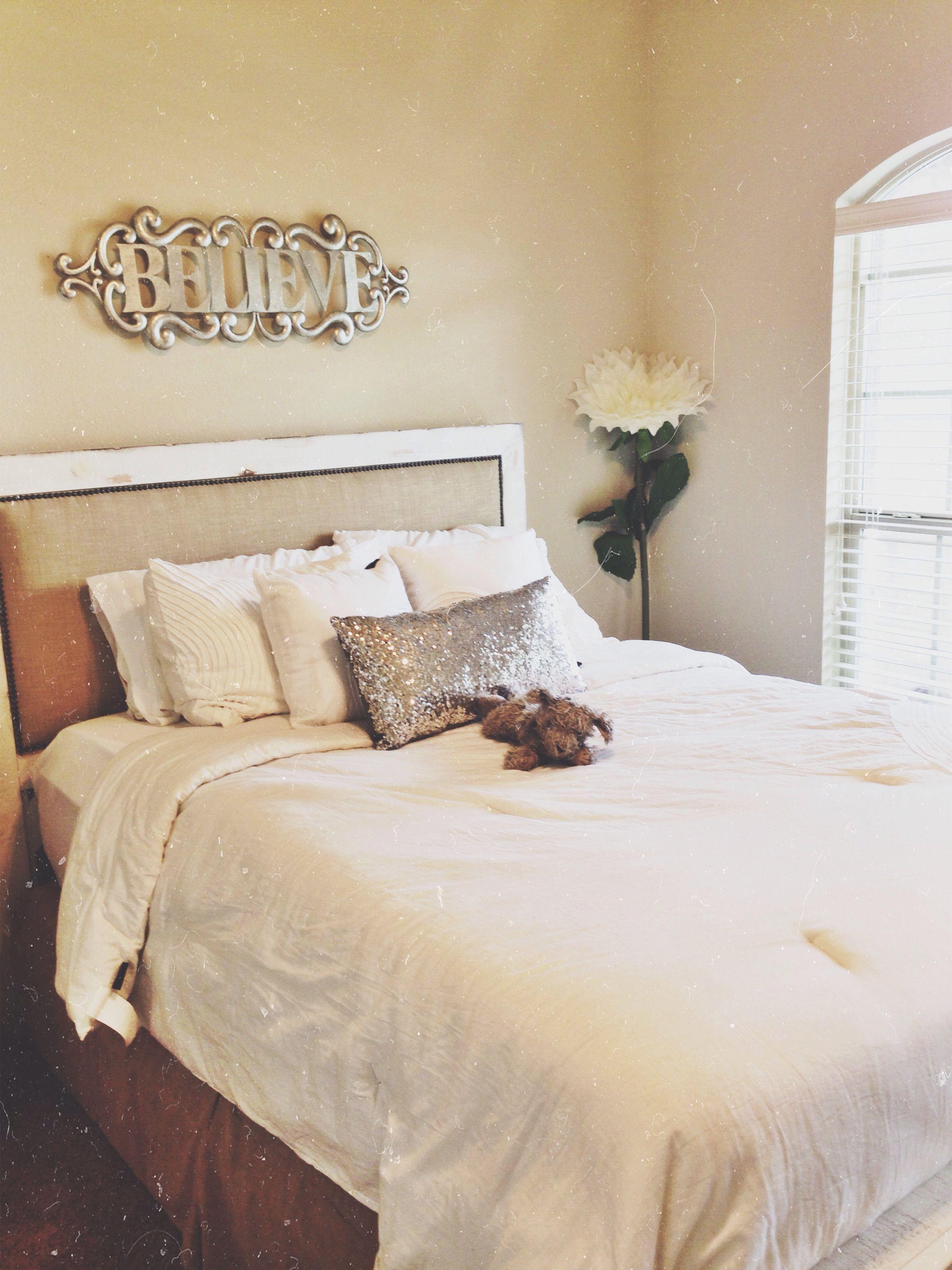 White vintage room!  I love my room :)