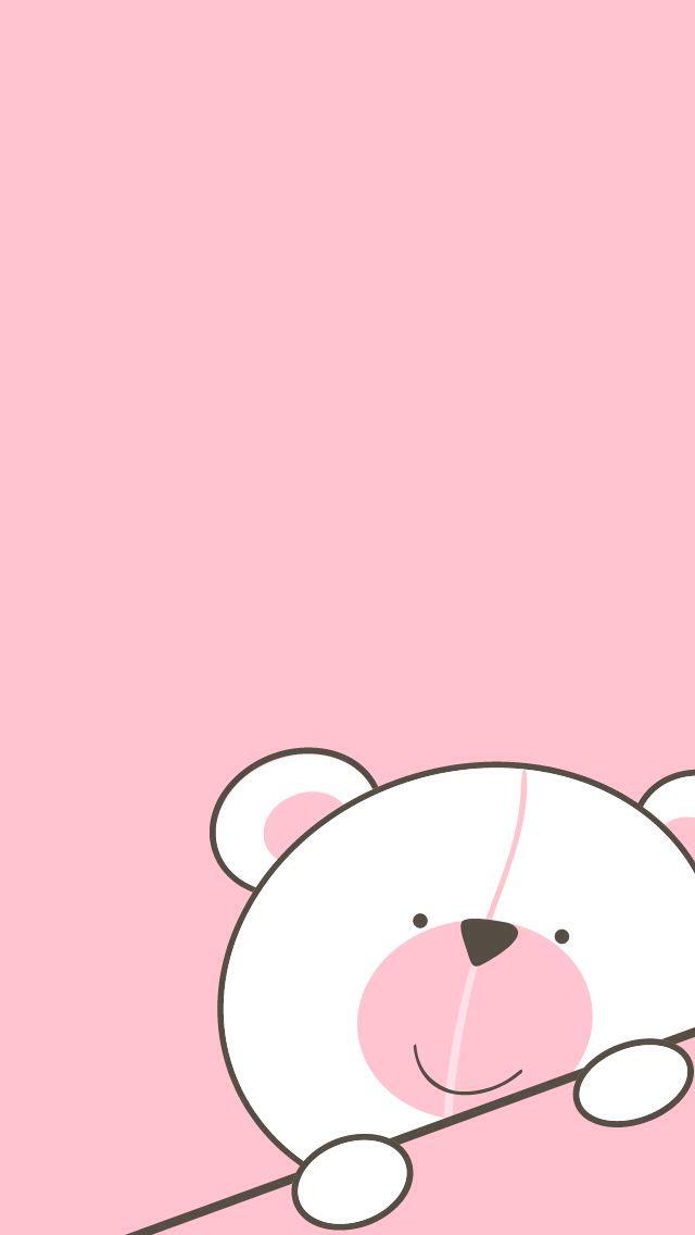 TEDDY BEAR BACKGROUND Bear Wallpaper, Hello Kitty Wallpaper, Pink Wallpaper Iphone, Love Wallpaper