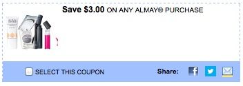 picture about Almay Coupon Printable named Almay Goods: Help you save $3 off printable coupon SmartSource