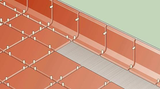 how to install a cove base tile cove