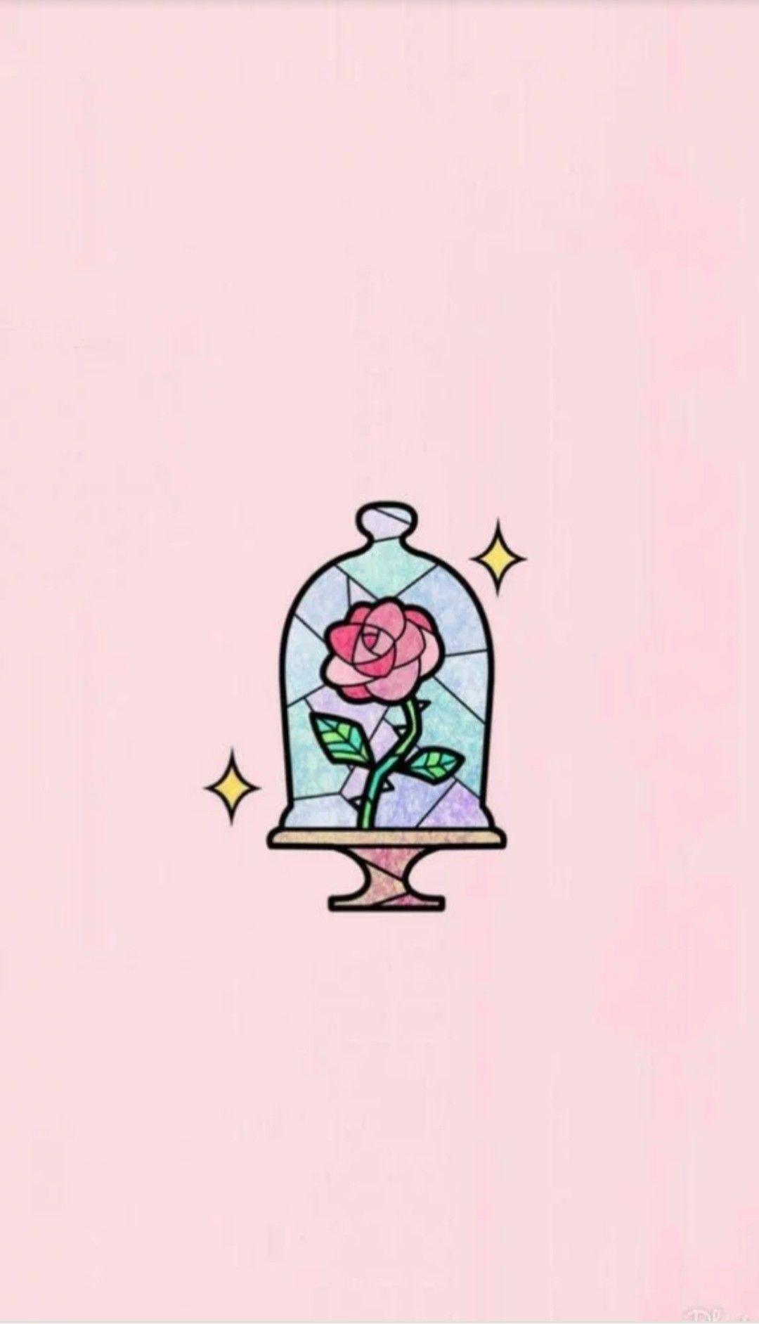 La rosa más Bonita la bella y la bestia
