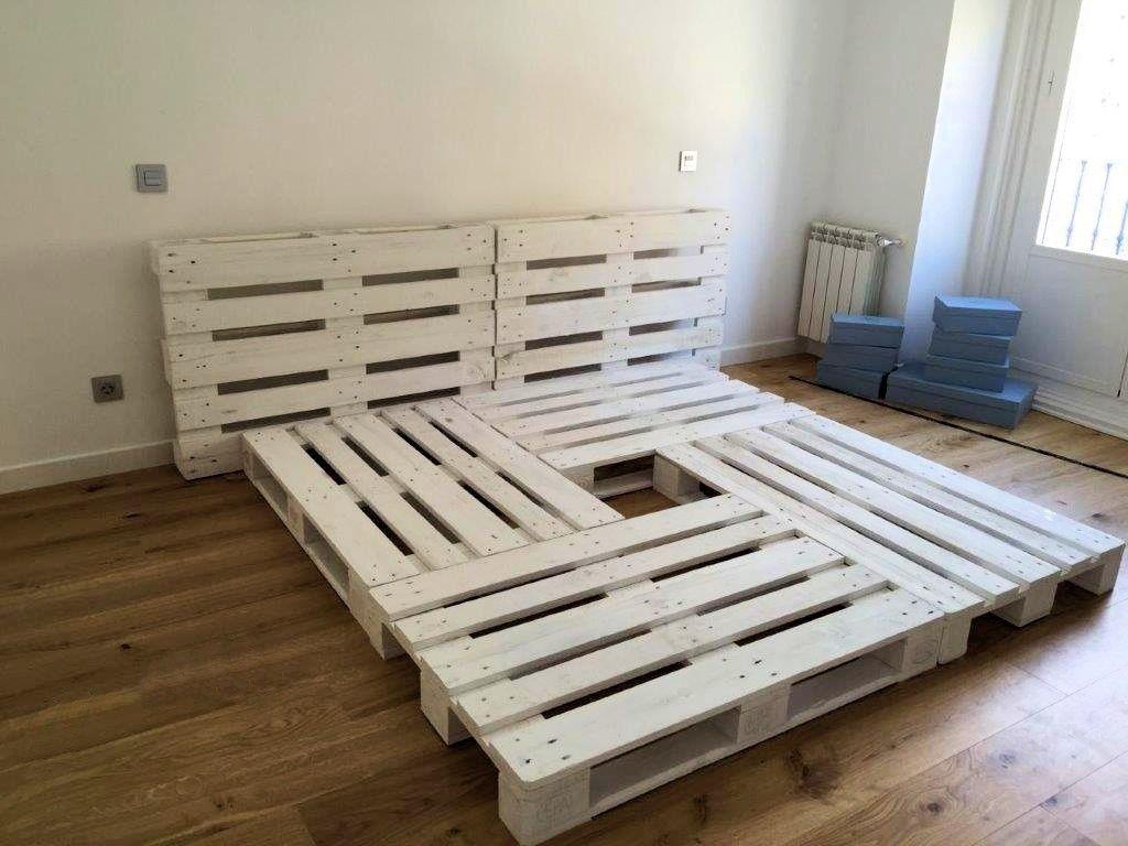 Resultado de imagen para camas de palets camas pinterest cama de palets camas y palets - Camas con palets ...