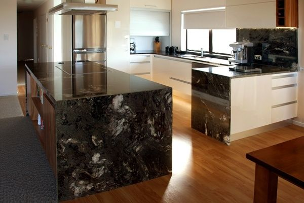 Maple Cabinets With Titanium Granite Google Search